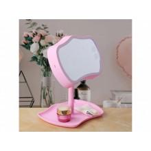 Зеркало с подсветкой для макияжа настольное Mirror Lamps 2 в 1 Косметическое зеркало с сенсорным экраном FS-45