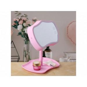 Зеркало с подсветкой для макияжа настольное Mirror Lamps Original 2 в 1 Косметическое зеркало с сенсорным экраном FS-45