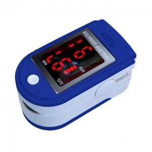 Пульсоксиметр на палец с дисплеем Pulse Oximeter AB-87 Пульсометр беспроводной LK-88