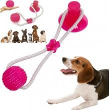 Игрушка на присоске для собак многофункциональная игрушка для собак Dog Toy мяч на присоске F-44