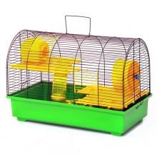 Клетка для грызунов и крыс не больших размеров Бунгало 4 люкс окрашена (000211133313)