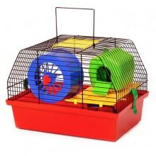 Клетка для грызунов мелких Лори Вилла 1 люкс с туннелем (окрашена) (772232)