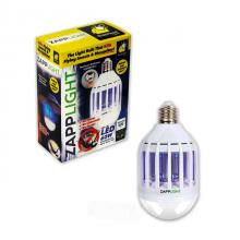 Лампа ловушка от комаров и насекомых светодиодная Zapp Light приманка (FD-57)