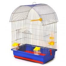 Клетка для волнистого среднего попугая Виола 470х300х660мм (окрашена) (RG-44)