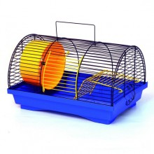 Клетка для хомяка и крысы не больших размеров 330х230х200 мм Бунгало 1 окрашена (GF-90)