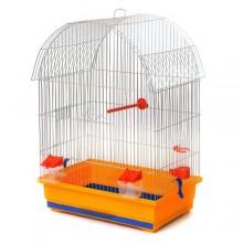 Клетка для средних попугаев Виола 470х300х660мм (Цинк) (FS-77)