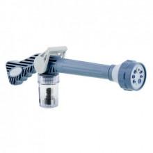 Распылитель для воды под давлением на шланг Ez Jet Water Cannon садовый и для огорода ручной водомет S-33