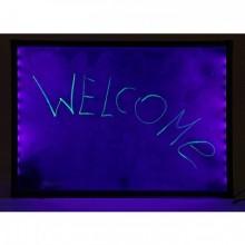 Флуоресцентная доска FLUORECENT BOARD 30*40 c фломастером и салфеткой