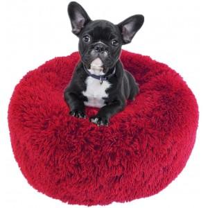 Лежанка для собак и кошек 60 см бордо Maipets Подушка-Лежак для кошек и собак (спальные места) кровать для домашних животных мягкая