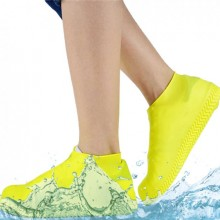 Бахилы многоразовые водонепроницаемые силиконовые чехлы для обуви размер L 40-45 SA-85