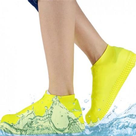 Бахилы многоразовые водонепроницаемые силиконовые чехлы для обуви размер S 34-38 XB-45