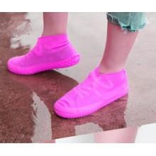 Бахилы многоразовые водонепроницаемые силиконовые чехлы для обуви размер L 40-45 BBV-11