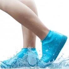 Бахилы многоразовые водонепроницаемые силиконовые чехлы для обуви размер L 40-45 LL-88