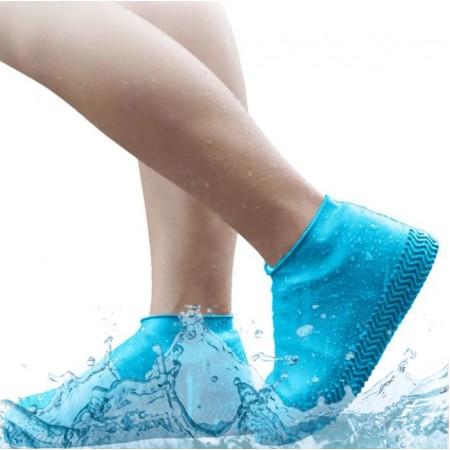 Бахилы многоразовые водонепроницаемые силиконовые чехлы для обуви размер S 34-38 GGD-49