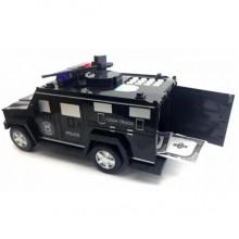 Копилка сейф машина полицейская с кодовым замком и отпечатком пальца Hummer SL-97