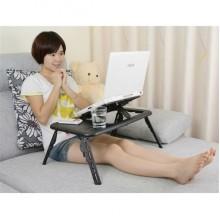 Столик для ноутбука складной трансформер COLERPAD E-TABLE LD09 столик подставка для ноутбука на кровать с охлаждением FSG-99