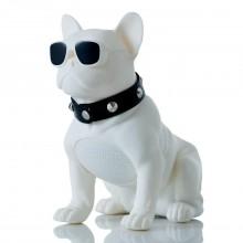Колонка DOG Портативная колонока Bluetooth usb SPS CH-M10 белая XS-11